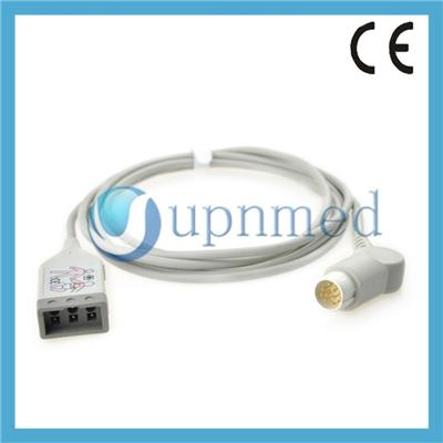 Philips M1520A M1530A Compatible ECG Trunk Cable