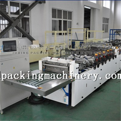 Three Side Seal With Shaped Bag Making Machine