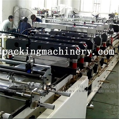 Three Side Center Seal Bag Making Machine