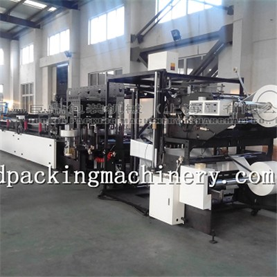 Three Side Seal Double Unwind Bag Making Machine