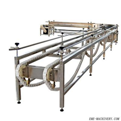 Living Poultry Cage Collection Automatic Conveyor