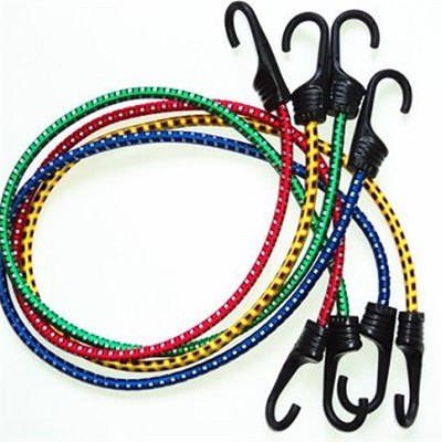Plastic Injection Steel Hook Bungee Cord