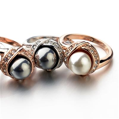 Imitation Pearl Ring
