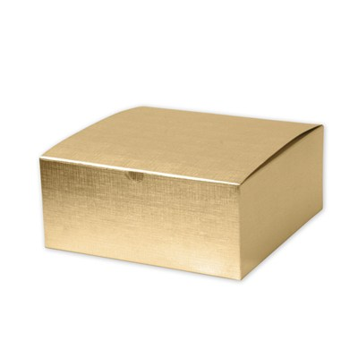 Silver Gold Gift Box