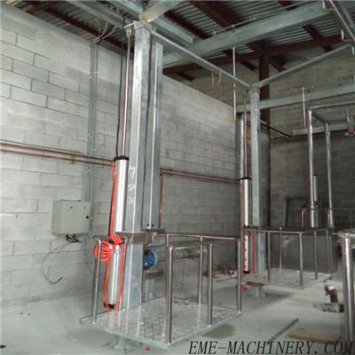 Cattle Abattoir Slaughter Single-Pillar Pneumatic Elevator