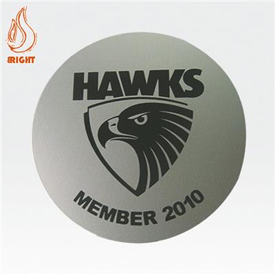 Custom Printed Logo Metal Coaster