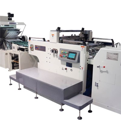 Full Automatic High Precision Rotary Stop Cylinder Screen Press