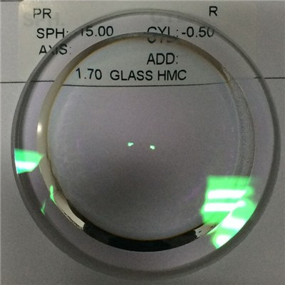 Distributor 1.70 Glass Rx Lens