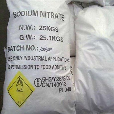 Sodium Nitrate For Food Preservative