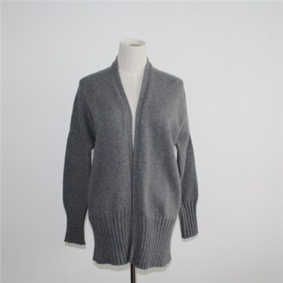 Sweater Coat For Women Jumper Plain Knitted Cardigan
