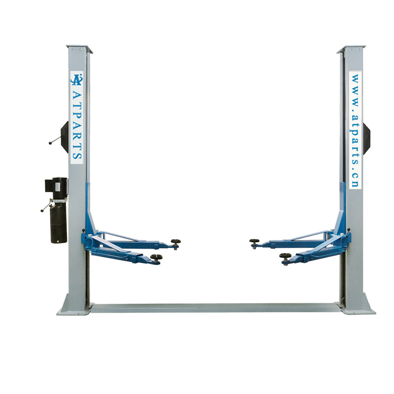 AT PARTS-ATL- 2035S Tubular two post garage car lift with single point release