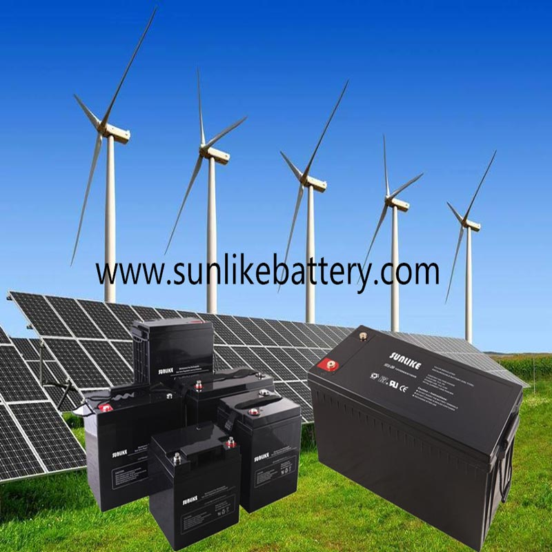 Deep Cycle Gel Battery 12V200ah Solar Battery for Street Light