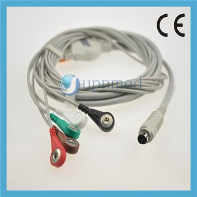 MEK 7pin One Piece ECG Cable