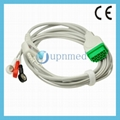 GE One Piece ECG Cable