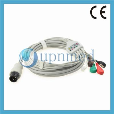 Datascope One Piece ECG Cable