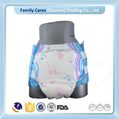 Customized Baby Print PE Back Sheet Adult Diaper