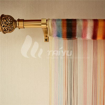 Multicolor Warp Knitting String Curtain