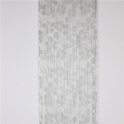 Printed Warp Knitting String Curtain