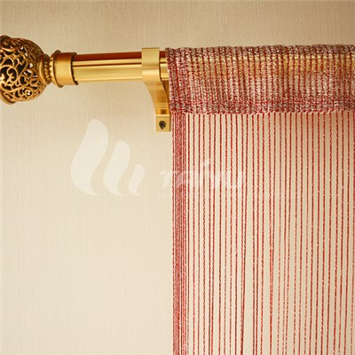 Warp Knitting String Curtain With Lurex