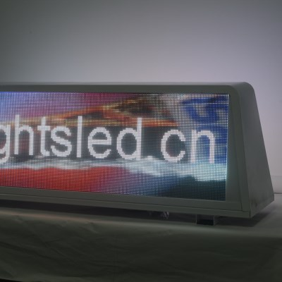 p4 taxi top led screen