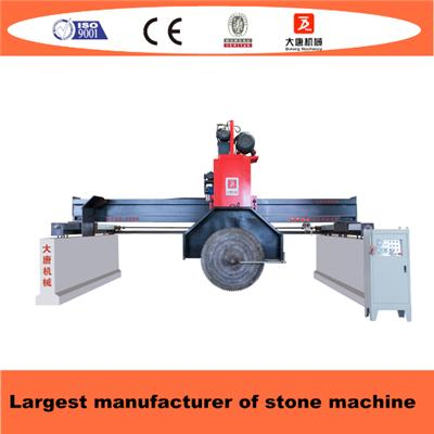Bridge Type Multi Blades Stone Block Cutting Machine With Skate Board