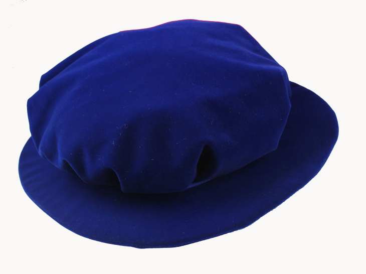 UK Gowns Graduation Tudor Bonnet/ Academic Beefeater-Royal Blue