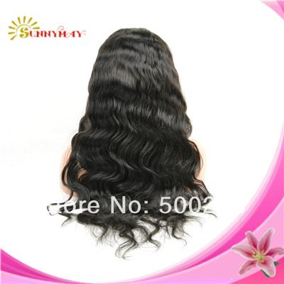 Customer Order U Shap Full Lace Wig Malaysian Virgin Human Hair Body Wave Full Lace Wig