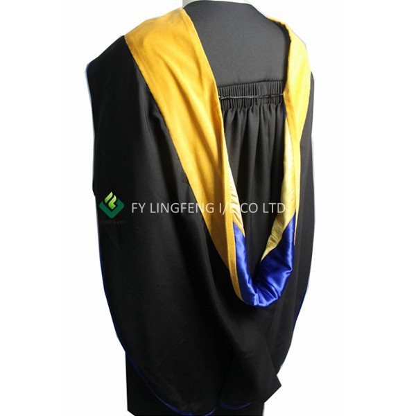 US College Regalia Bachelor Hoods