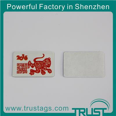 Promotional Products In 2016/ Anti Tear Rfid Tag/ Uhf Anti Metal Tag