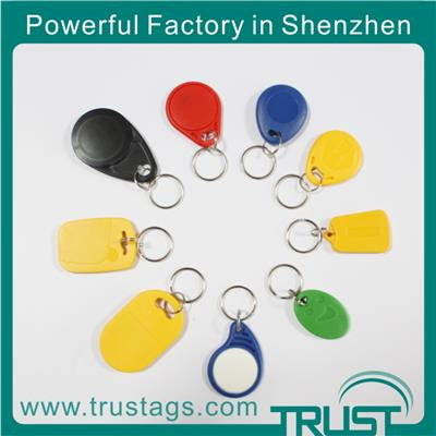 Professional Rfid Tags Supplier High Quality Rfid Key Fob With 125khz 13.56mhz Rfid Key Chain