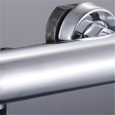 Brass Bathroom Thermostatic Shower Mixers In Chrome