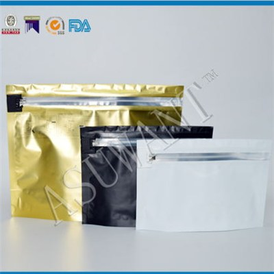 FDA & ASTM Approvable Child Proof Bag with a Childproof Ziplock Made in China for Medical Marijuana Industry Use Packaging