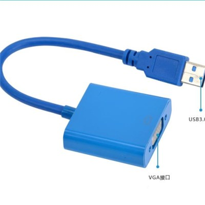 USB 3.0 to Vga Converter cable (support 2.0)