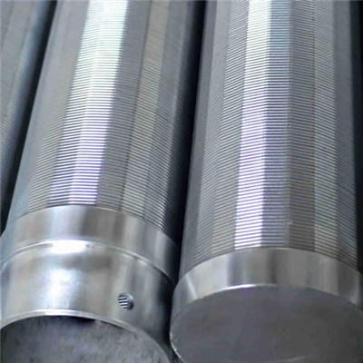 Wedge Wire Water Screen Pipes