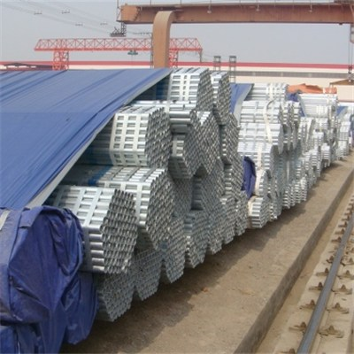 Galvanzied Seamless Steel Pipes