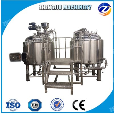 2-Vessel Beer Brewing Equipment