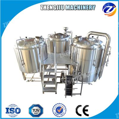 3-Vessel Beer Brewing Equipment