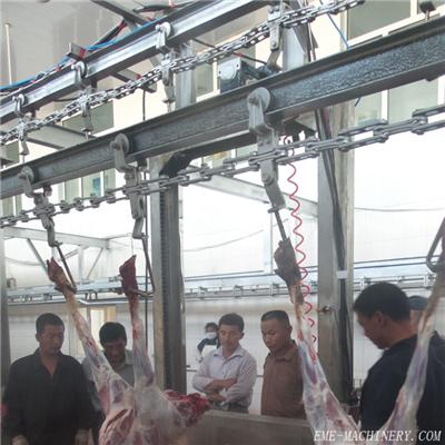 Sheep Carcass Processing Over-Head Automatic Conveying Rail