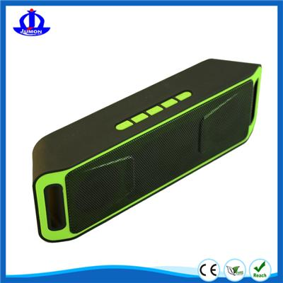 Stereo Outdoor Portable Bluetooth Wireless Speaker,Louder Dual-Driver And Built-in Microphone Hands Free For IPhone IPad Samsung