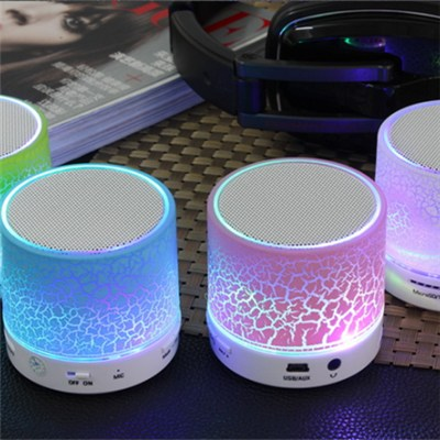 Cheap Led Light Bluetooth Speaker Column Portable Small Mini Bluetooth Speakers Wireless Smart Hands Free Blue Tooth Speaker