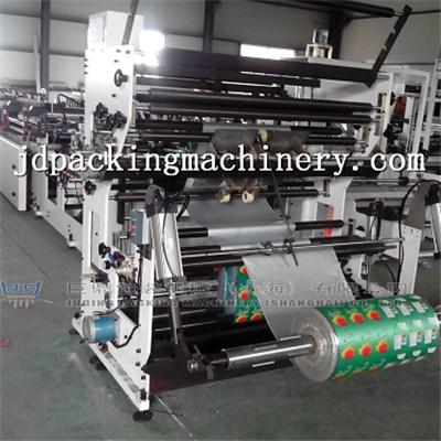 Four Side Seal With Carry Bag Bag Making Machine