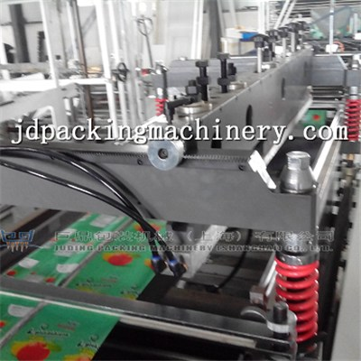 Four Side Seal With Open Window, Tissue Bag, Baby Diapers Bag Making Machine