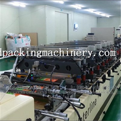 Standing Pouch Bag Making Machine