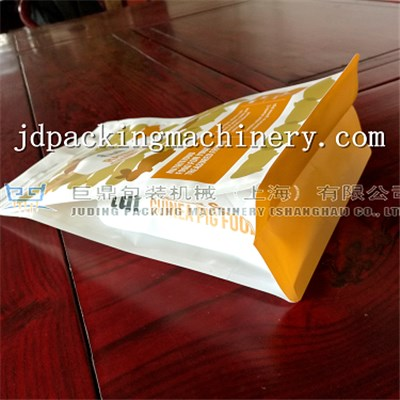 Eight Sealing With Zipper Bag Making Machine