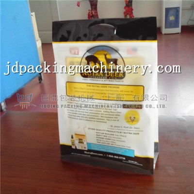 Box Pouch With Slider Zipper Bag Making Machine