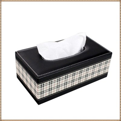 PU Leather Tissue Boxes