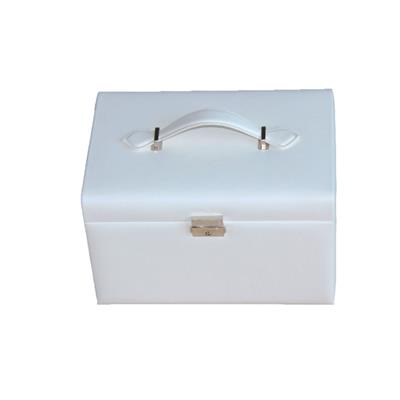 3 Tiers Jewelry Storage PU Leather Boxes