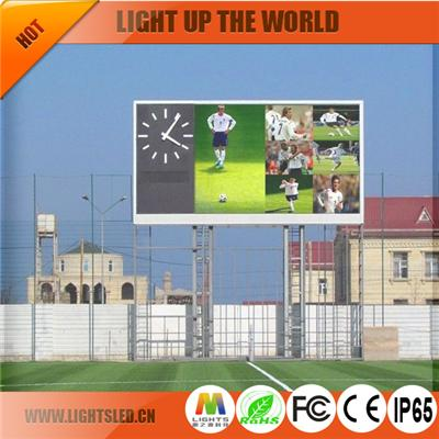 p10 dip outdoor led screen display