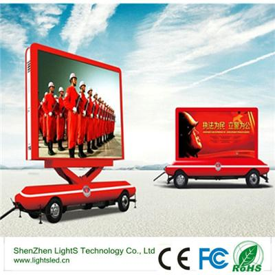 p8 truck high resolution  led screen for outdoor