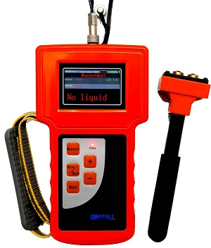 Portable Ultrasonic Liquid Level Indicator for Common Tank